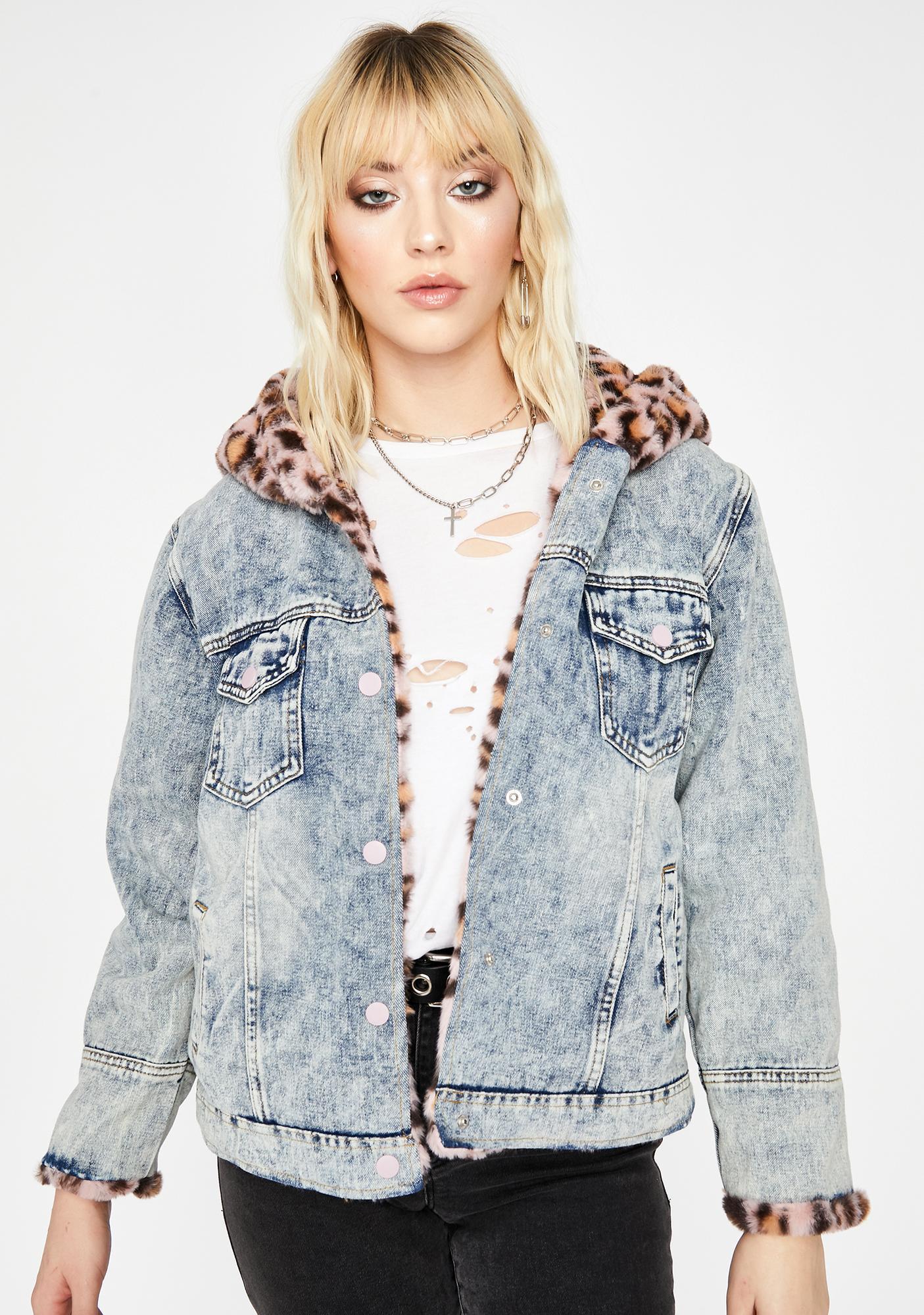 Baby Miss Fierce Denim Jacket