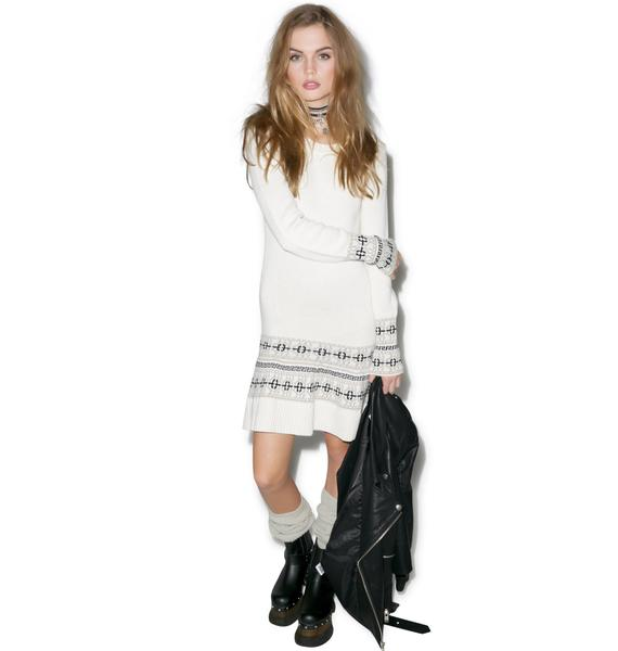 For Love & Lemons Alpine Mini Dress