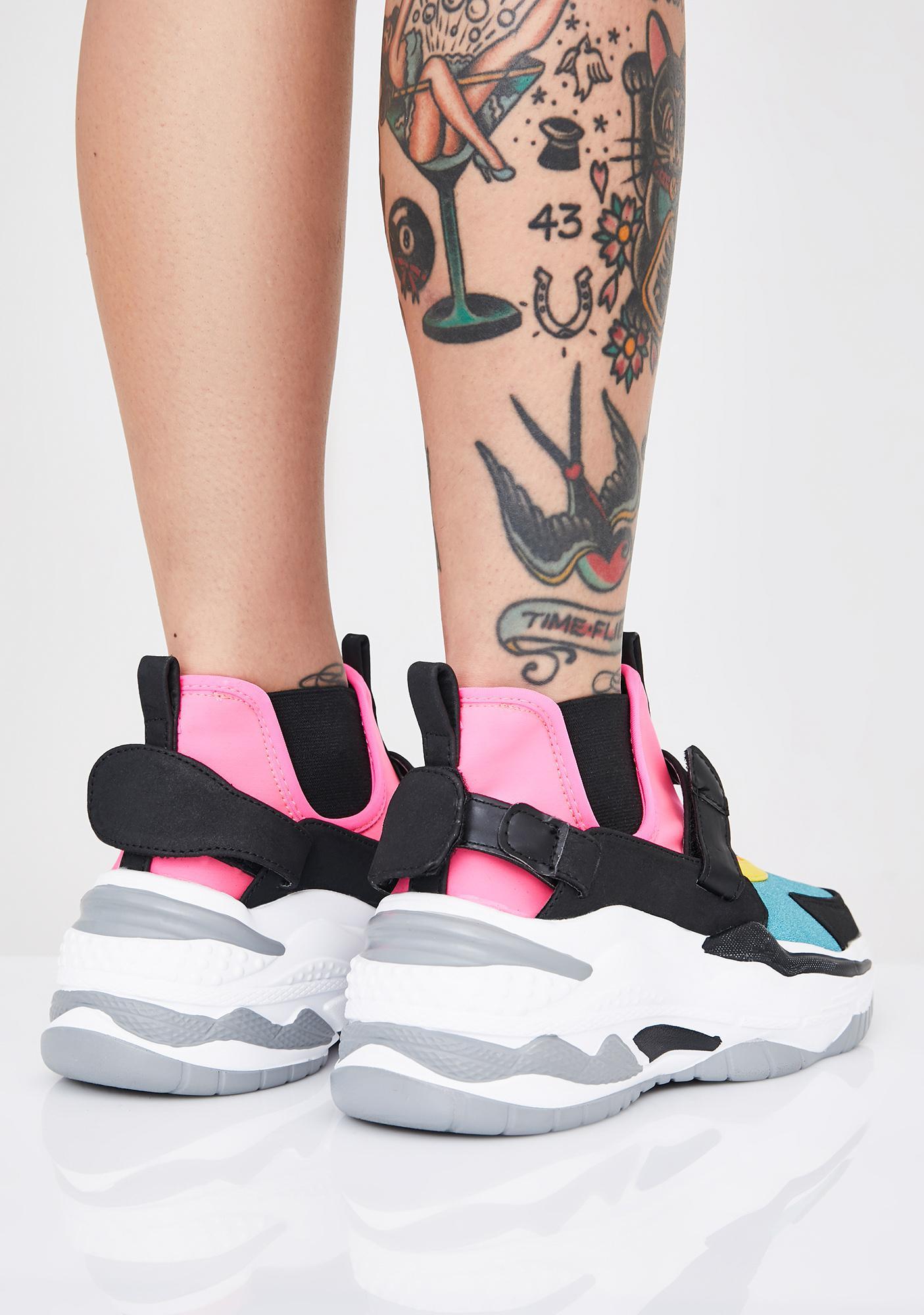 Hype Maniac Chunky Sneakers