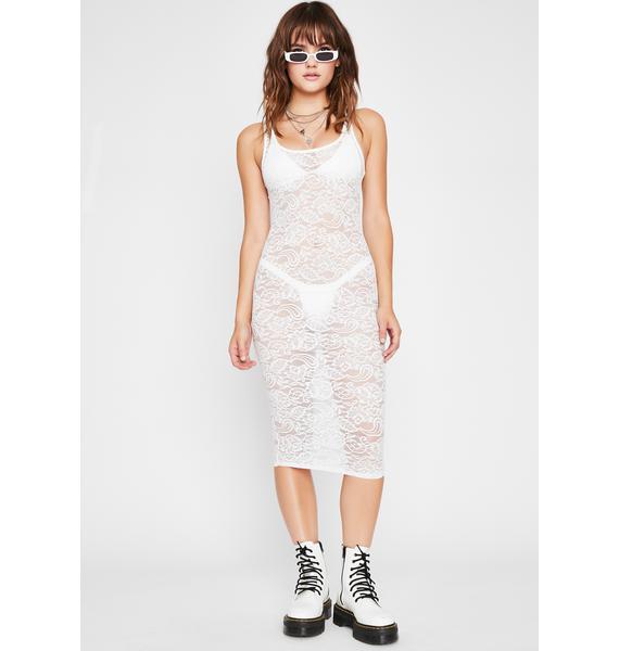 Risque Business Lace Dress