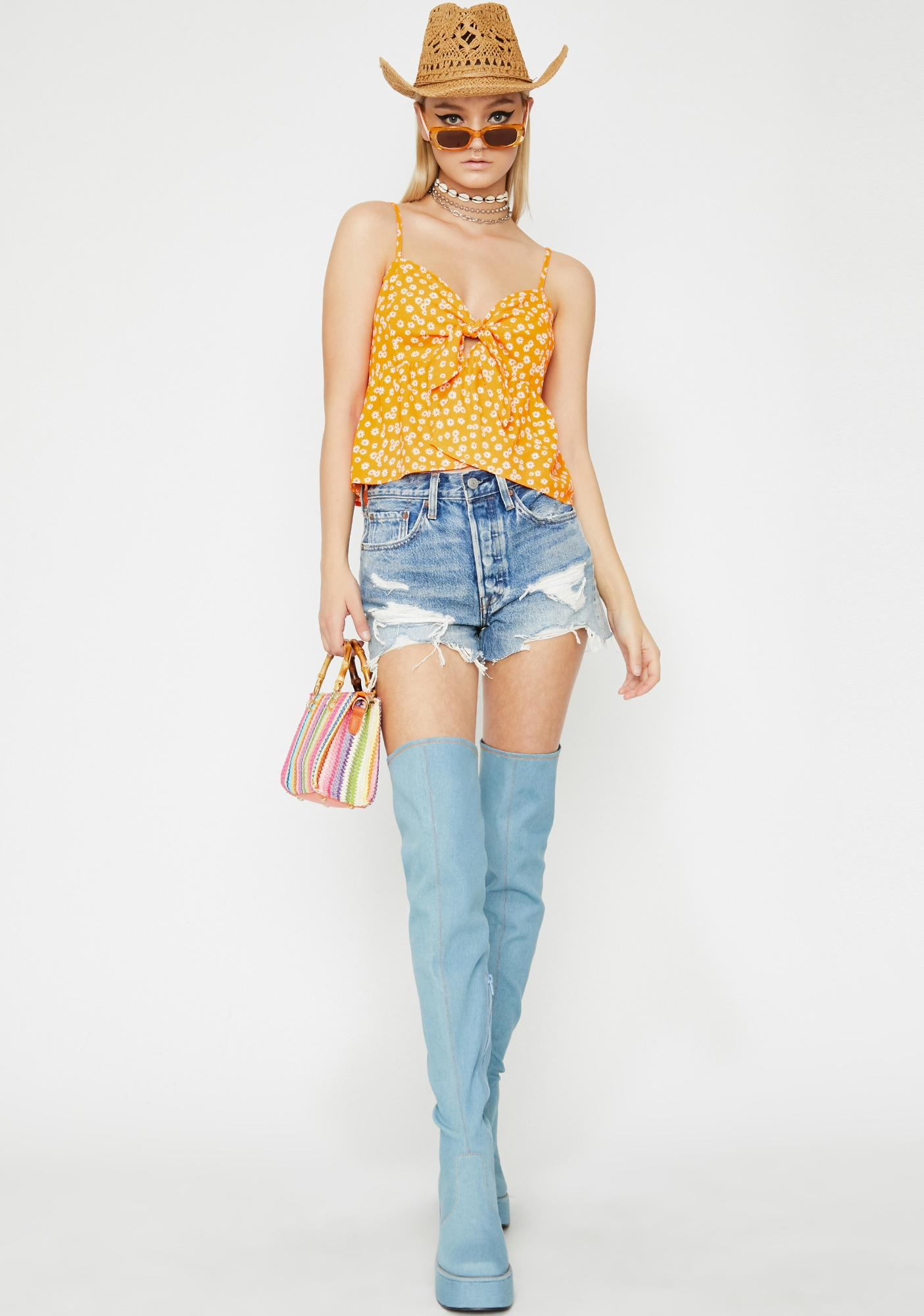 Fabulously Fresh Floral Top