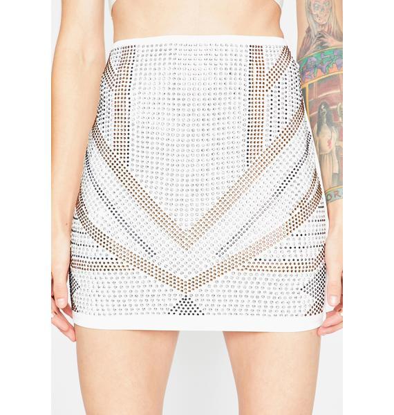 Icy Bling Byte Mini Skirt