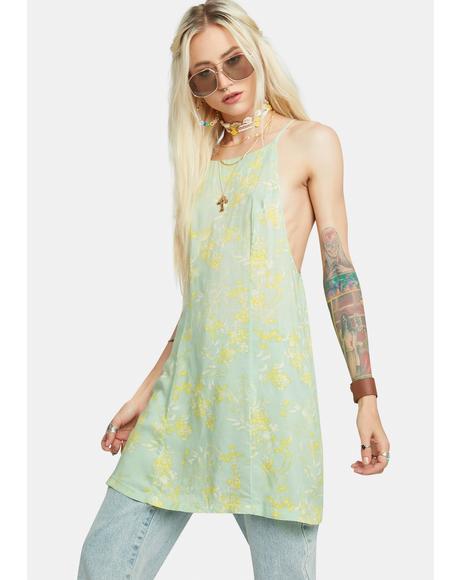 In Control Mini Slip Dress