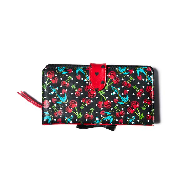 Iron Fist Cherry Glazer Wallet