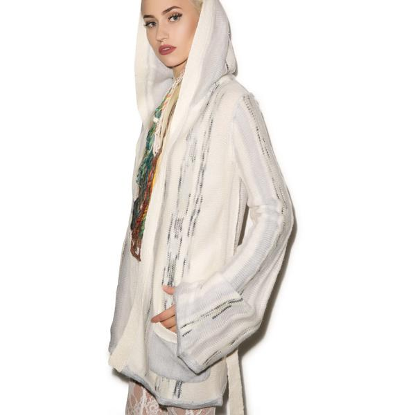 Chaser Hippie Hooded Cardi