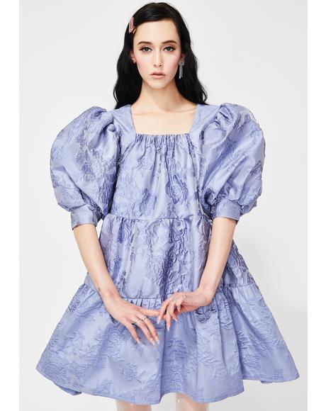Award Jacquard Mini Dress