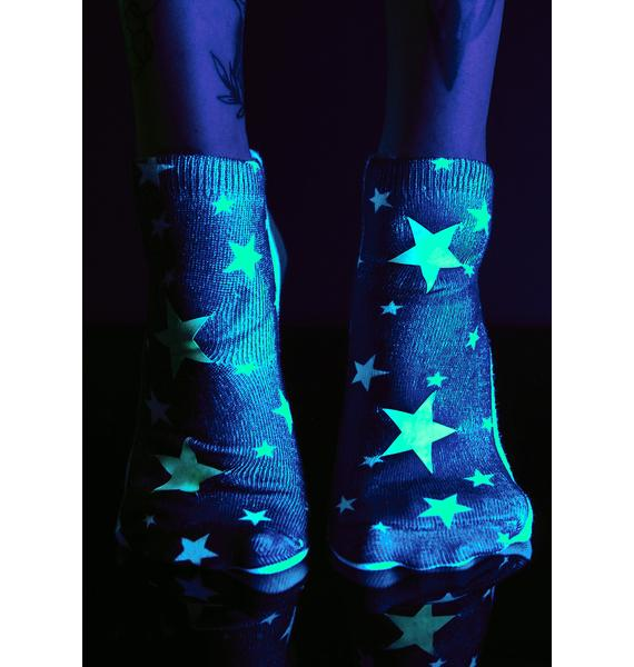 Night Lights Glow-In-The-Dark Socks