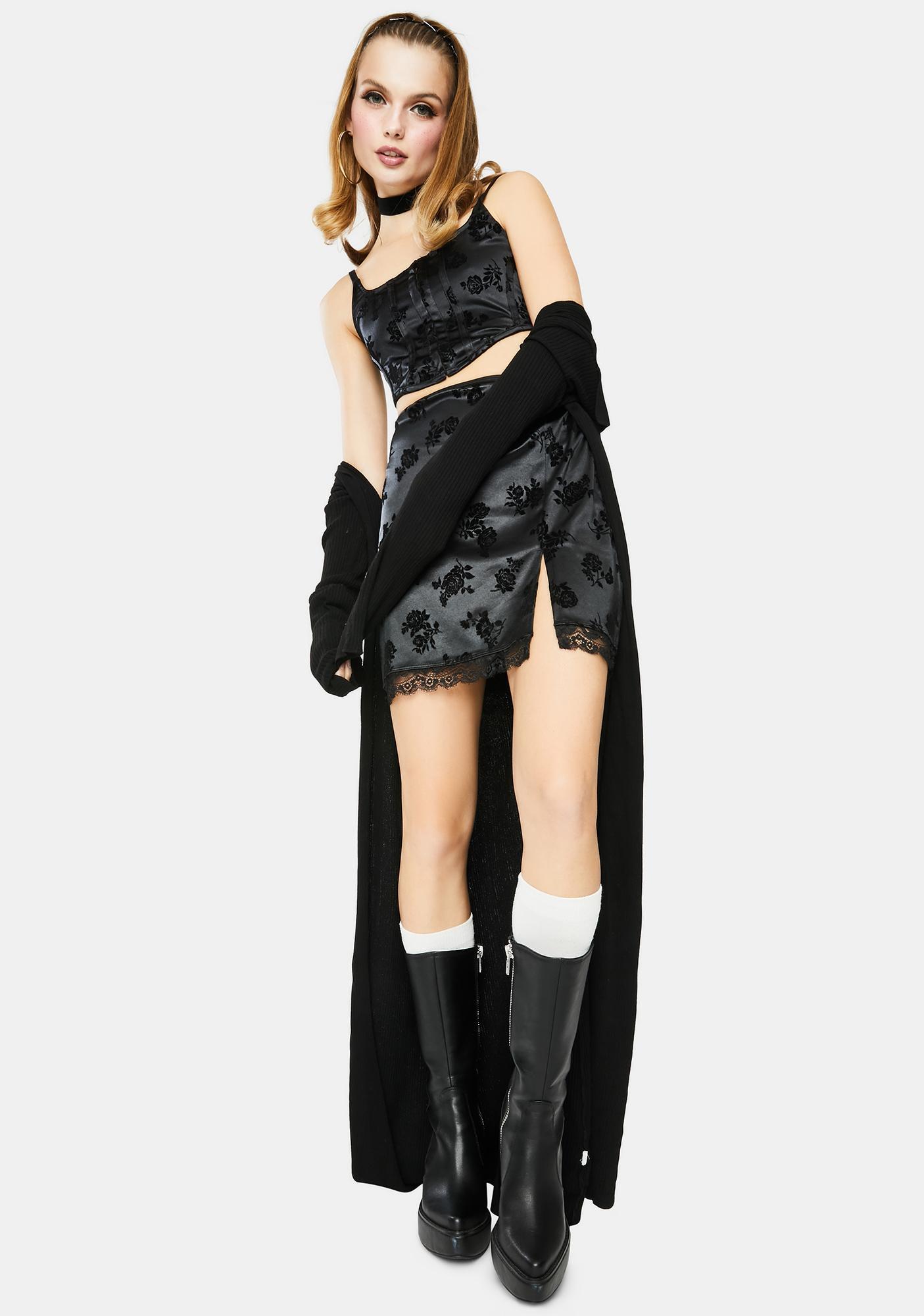 Motel Corla Mini Skirt
