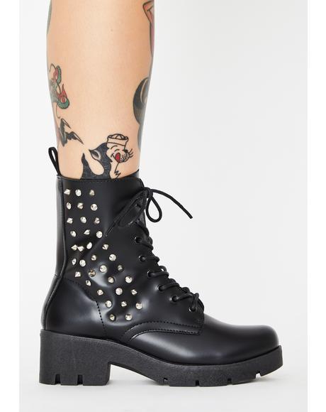 Stud Recon Combat Boots