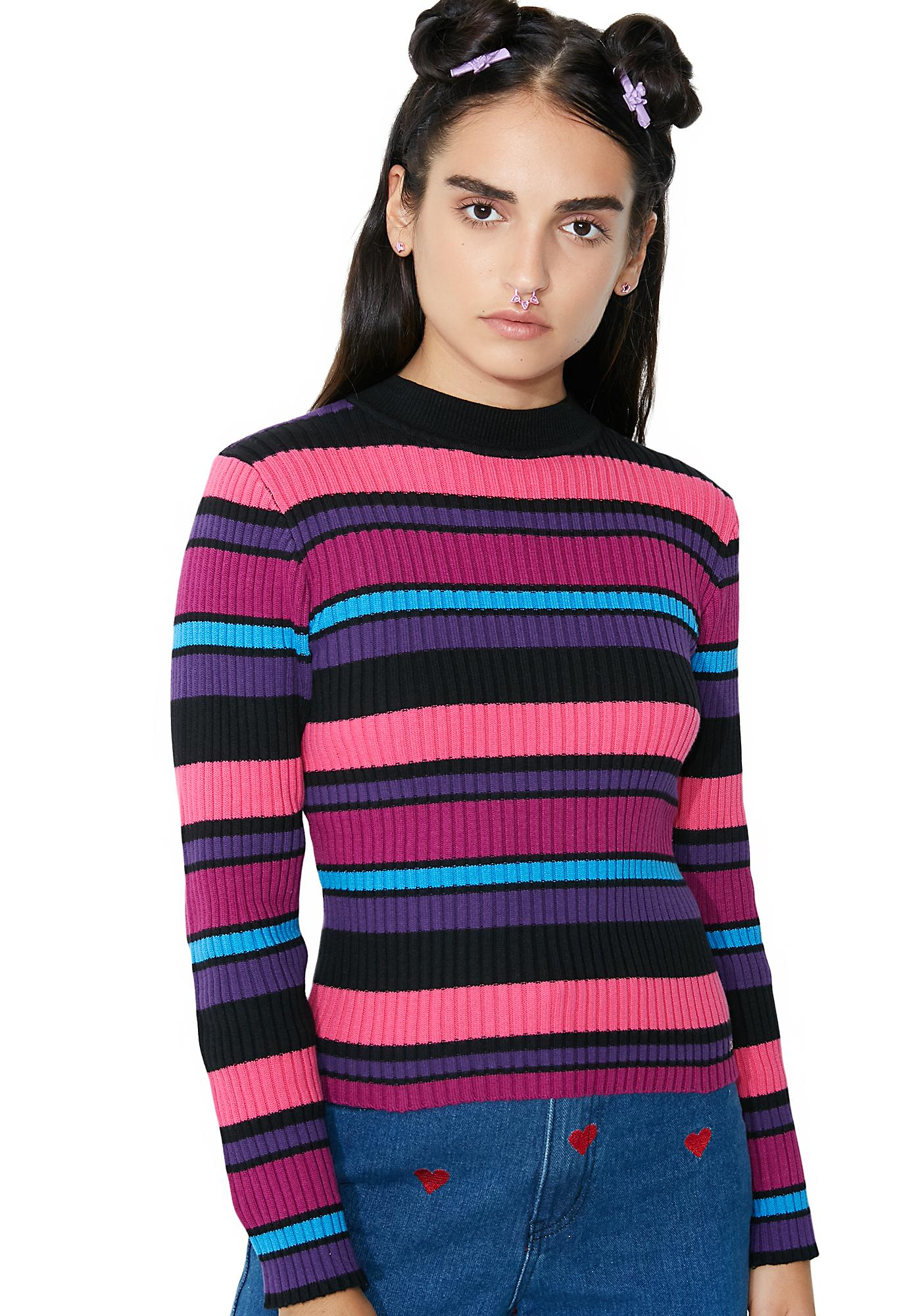Lazy Oaf Jewel Stripe Knit
