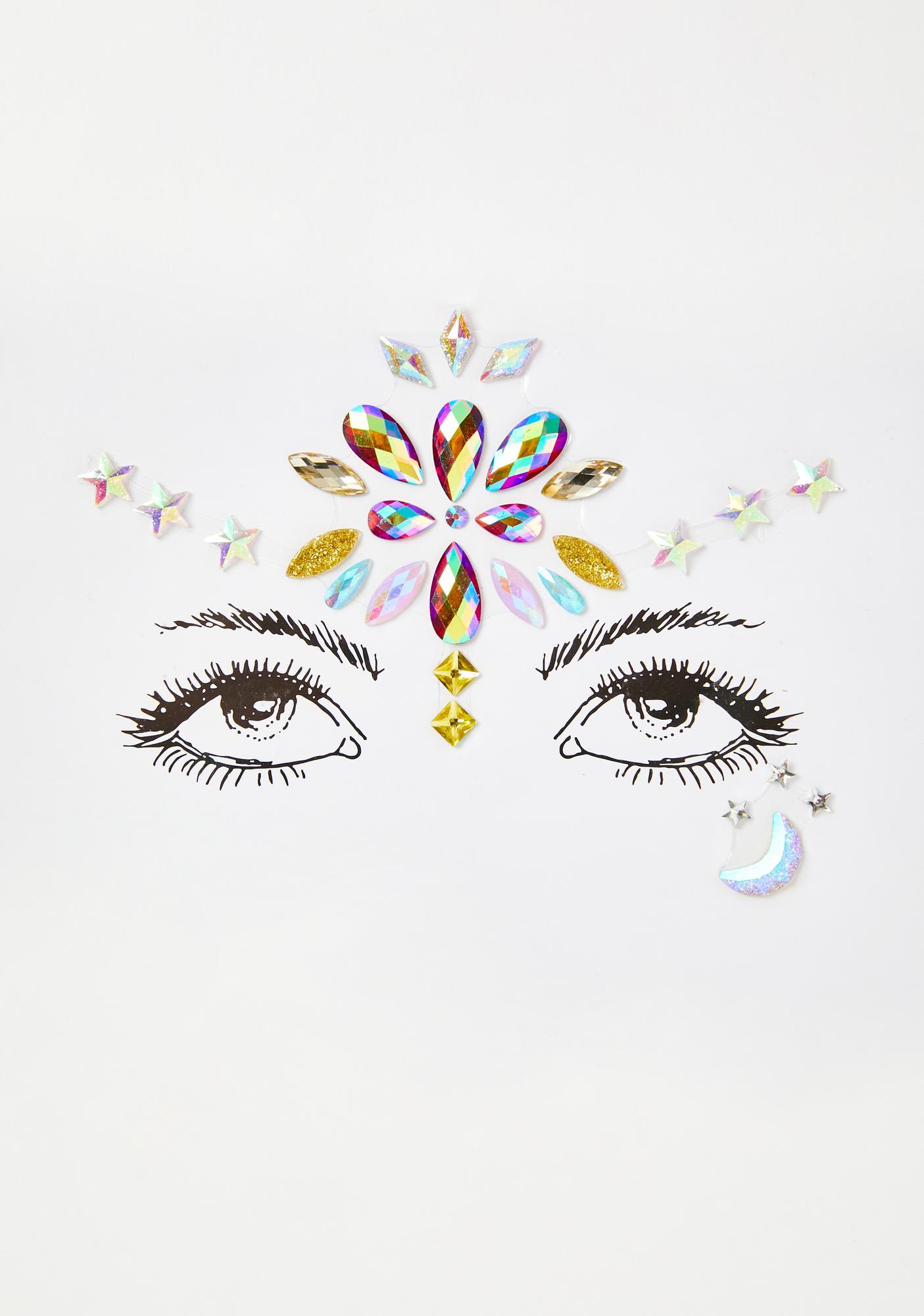 Lucite Visions Face Gems