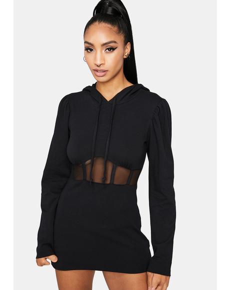 Beyond The Basics Hoodie Dress