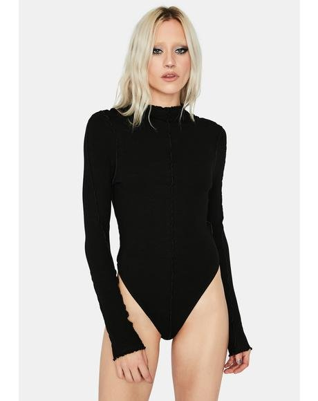 Find Myself Lettuce Hem Bodysuit