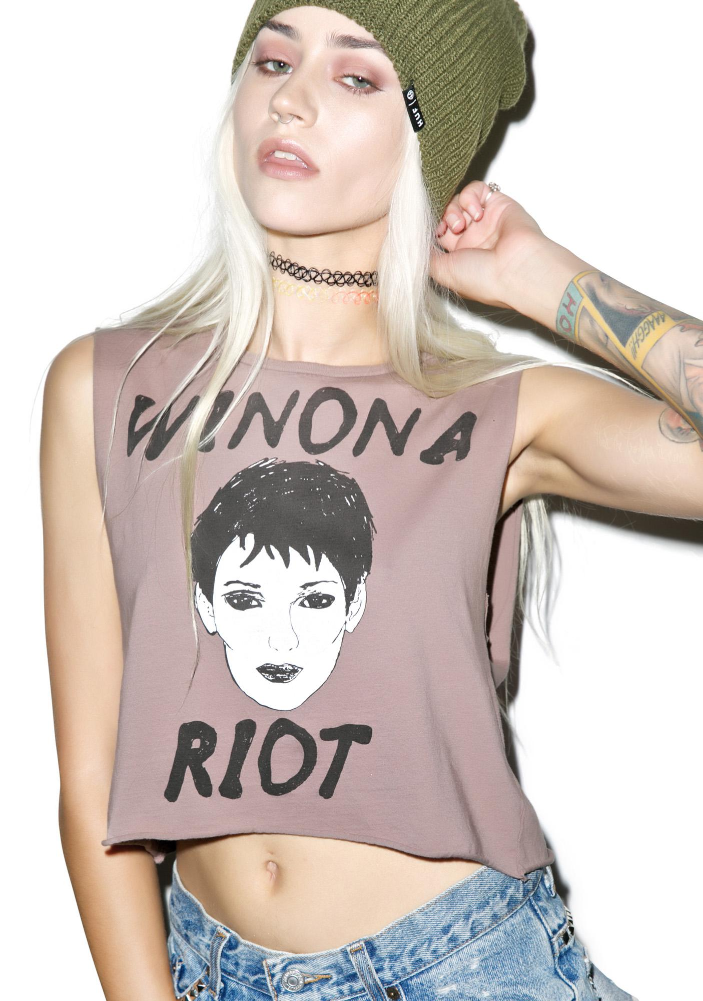 Hips and Hair Riot Winona Tee