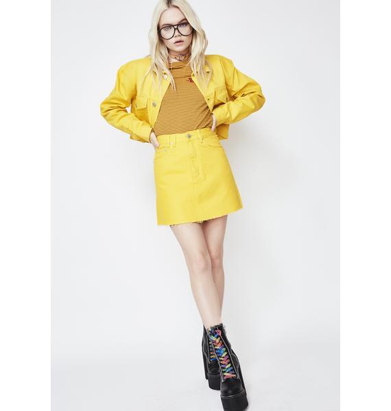 Insight Mellow Sasha A-Line Skirt