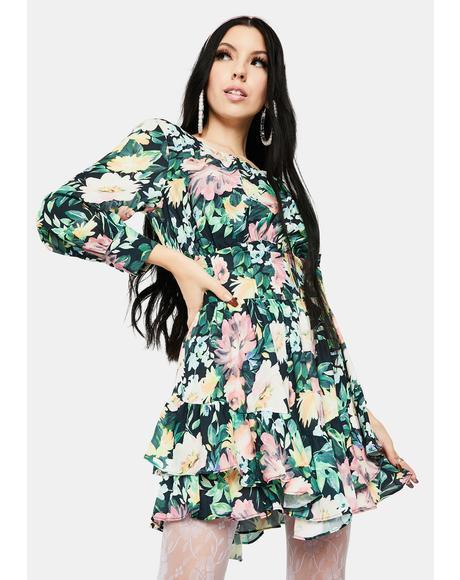 Shiloh Floral Mini Dress