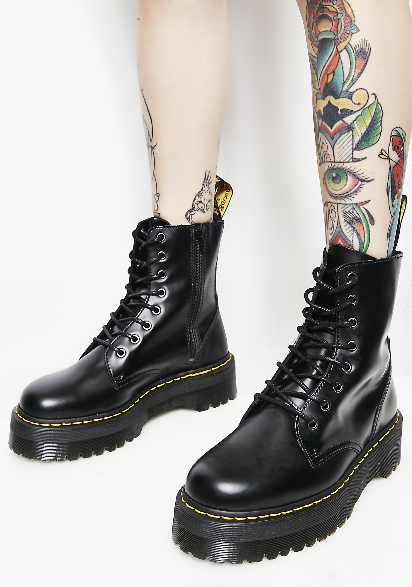 2f88285778 Dr. Martens Jadon 8 Eye Boots | Dolls Kill