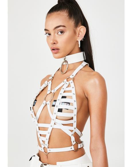 Skeletoria Harness Top