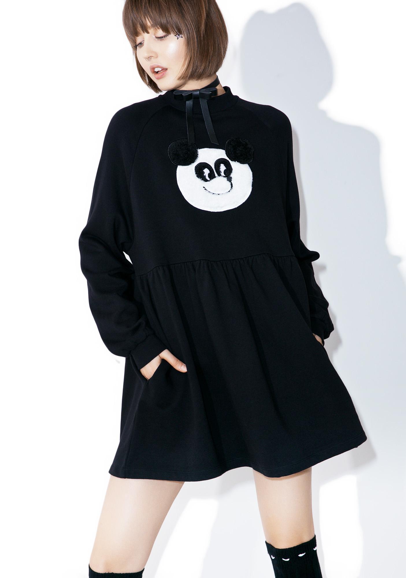 Lazy Oaf Panda Sweater Dress