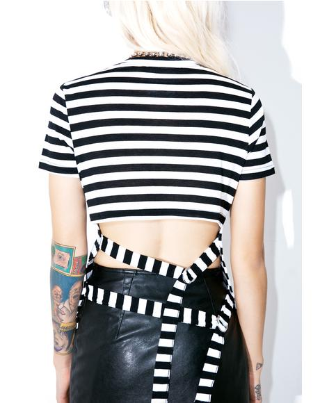 Striped Row Top