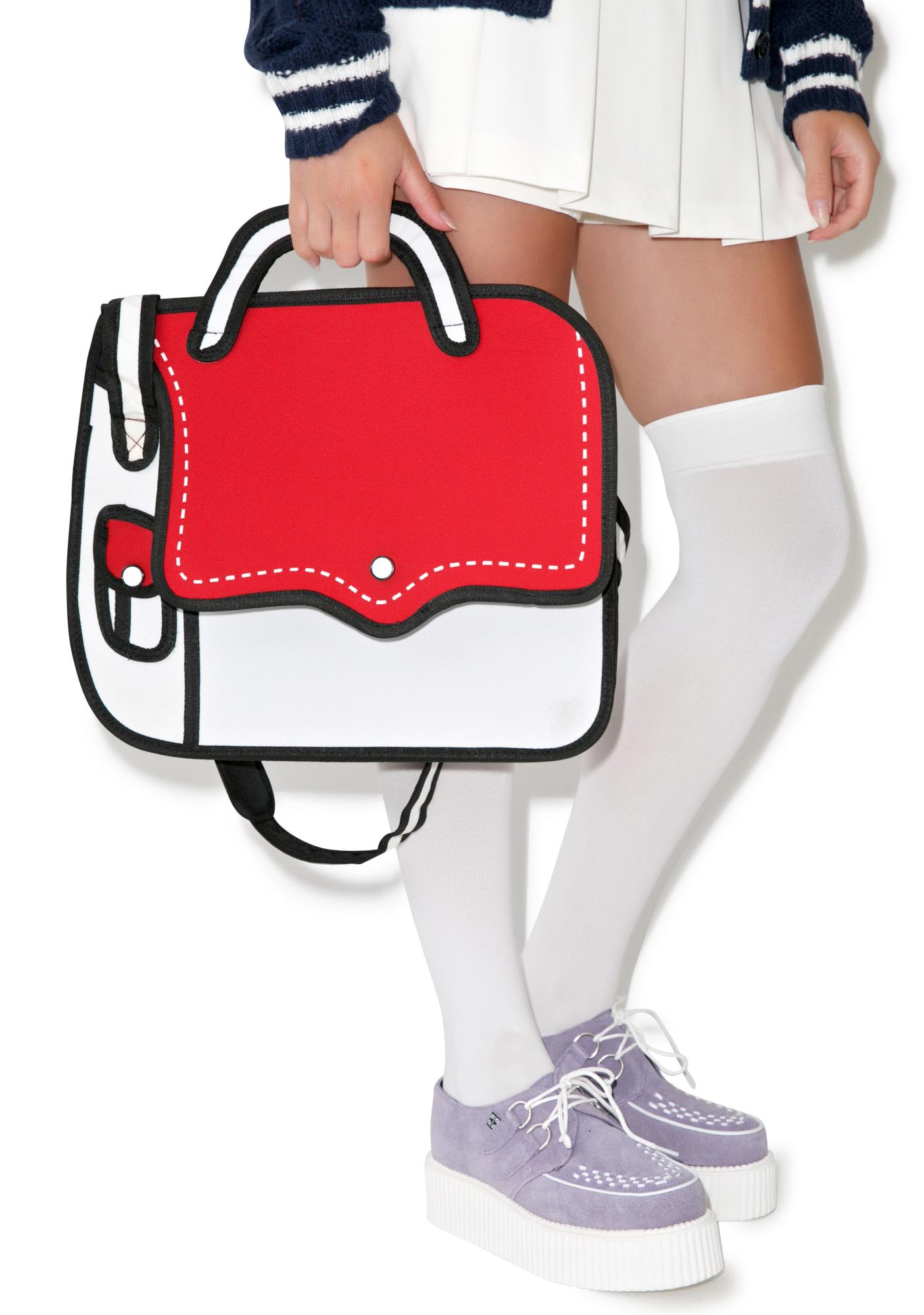 Hip To Be Square Cartoon Bag
