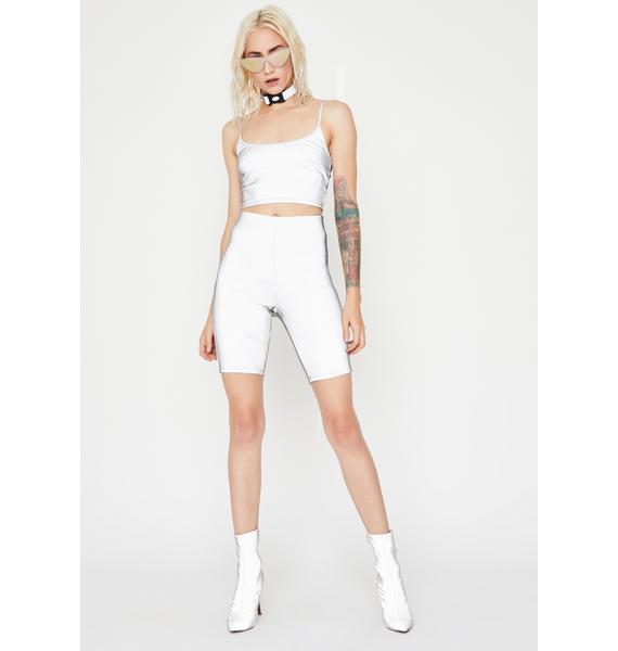 Sassy Synergy Reflective Shorts