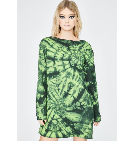 Ivy Berlin Dreamland Tie Dye Tee Dress