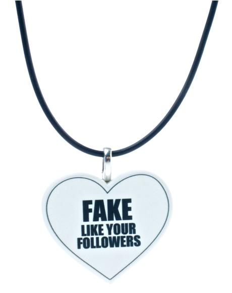 Fake Followers Choker