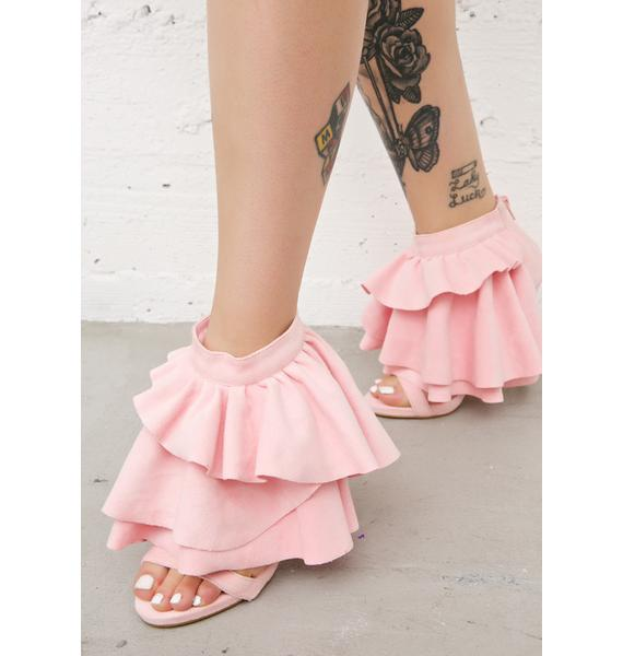 Privileged Georgina Ruffled Heels