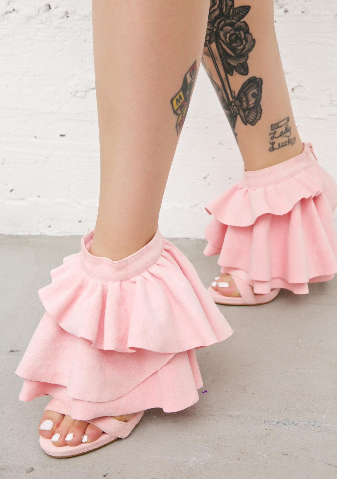 Privileged Georgina Ruffled Heels