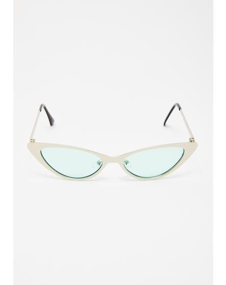 So Loveable Cat Eye Sunglasses