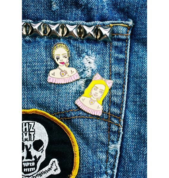 Eye Candy Designs Barbie Stylist Pin Set