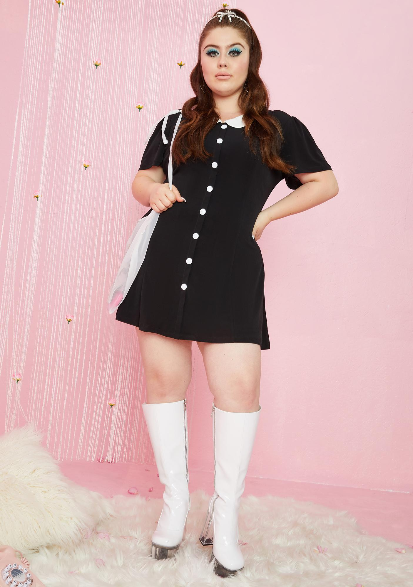 Sugar Thrillz Perfect Meet Cute Mini Dress