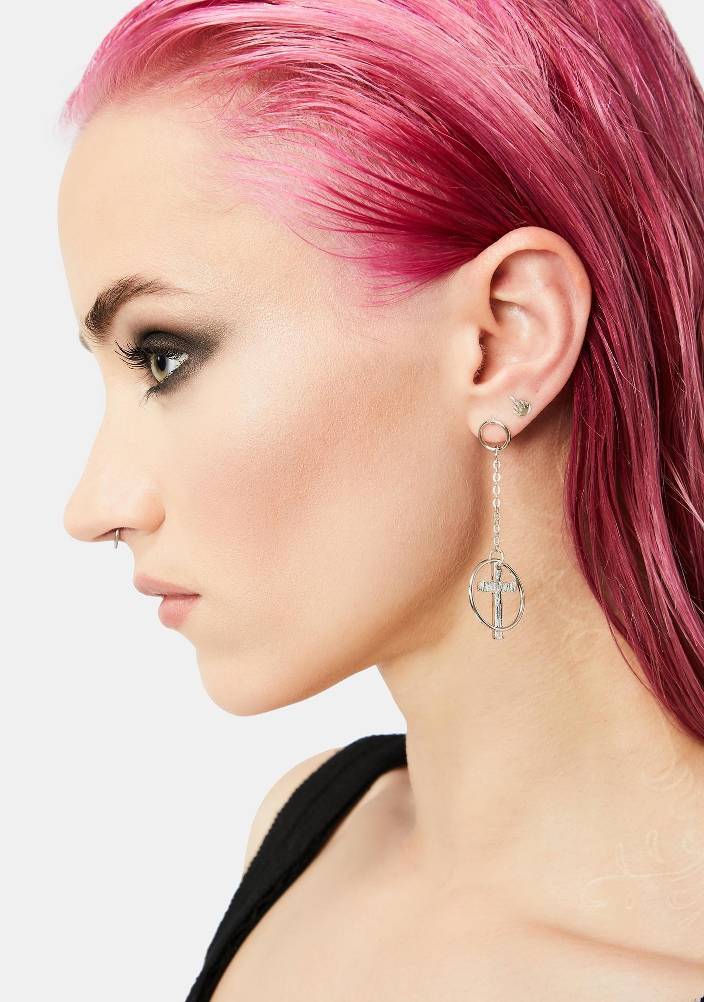 Supernatural Charms Earring Set