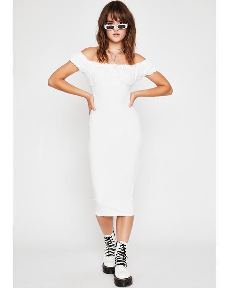 Wind It Up Midi Dress