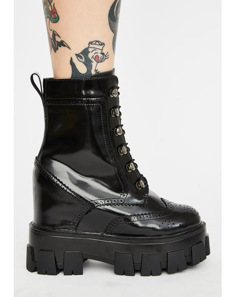 Toughest Chick Platform Boots
