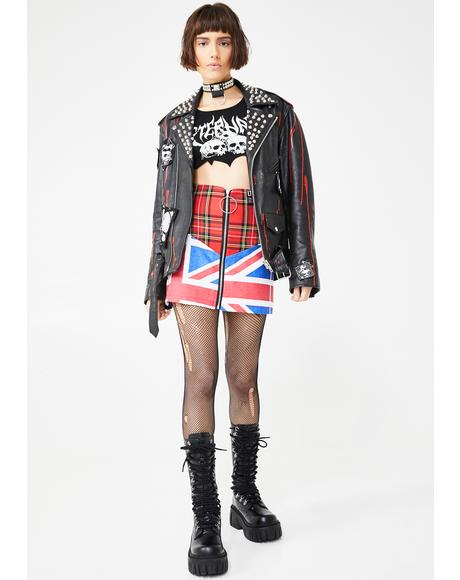 The Anarchy Mini Skirt
