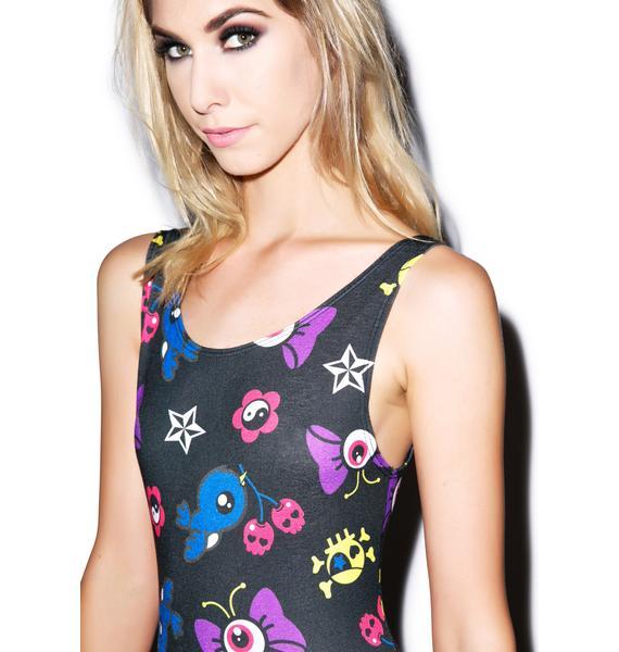 New Breed Girl Buttereyeball Tank Dress