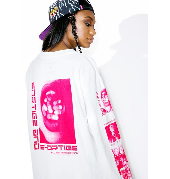 40s & Shorties Mouthful Long Sleeve Tee