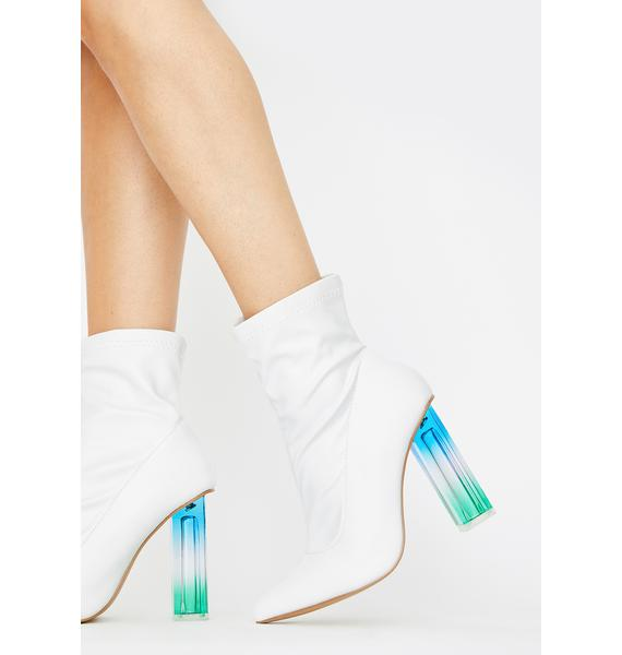 Angel In My Bag Ankle Boots