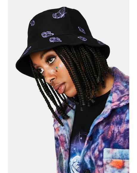 Magic Free Spirit Foreva Butterfly Bucket Hat