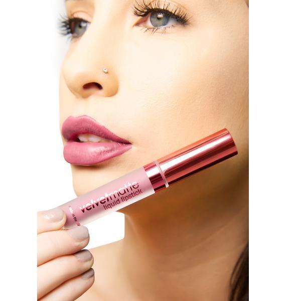 LA Splash Seductress Velvet-Matte Liquid Lipstick