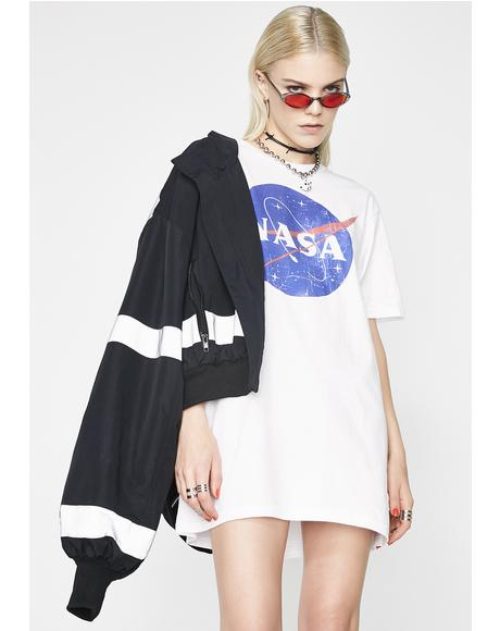 Waste of Space Graphic Tee
