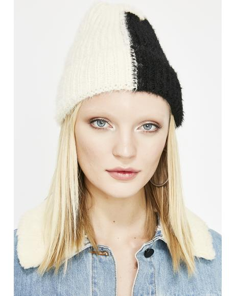 Out Of Whack Colorblock Beanie