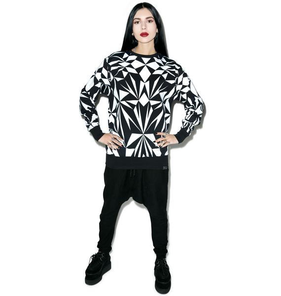 Killstar Fractal Sweatshirt