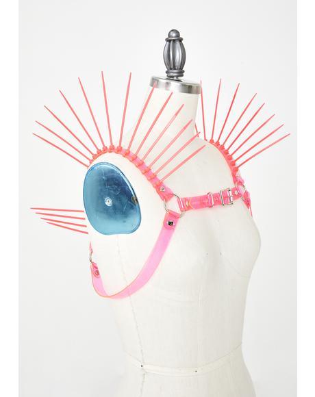 UV Neon Replicant Chest Harness