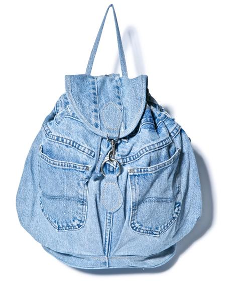 My So Called Denim Backpack