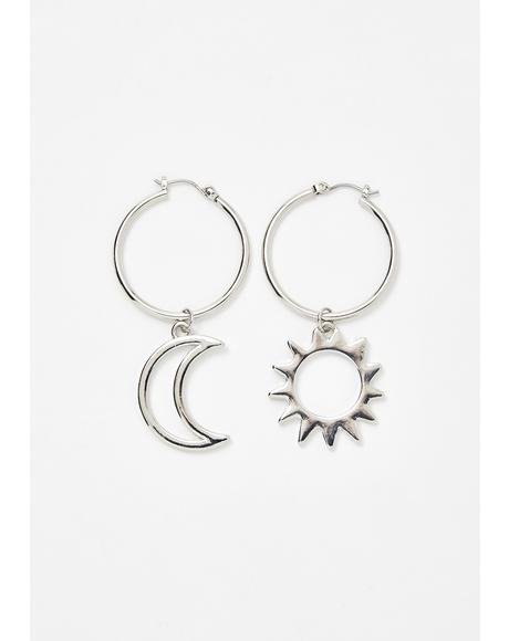 Star Signs Drop Earrings