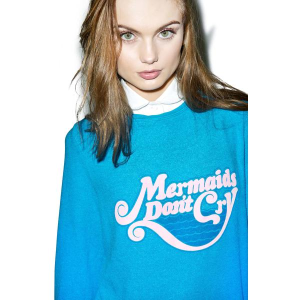 Wildfox Couture We Don't Cry Baggy Beach Jumper