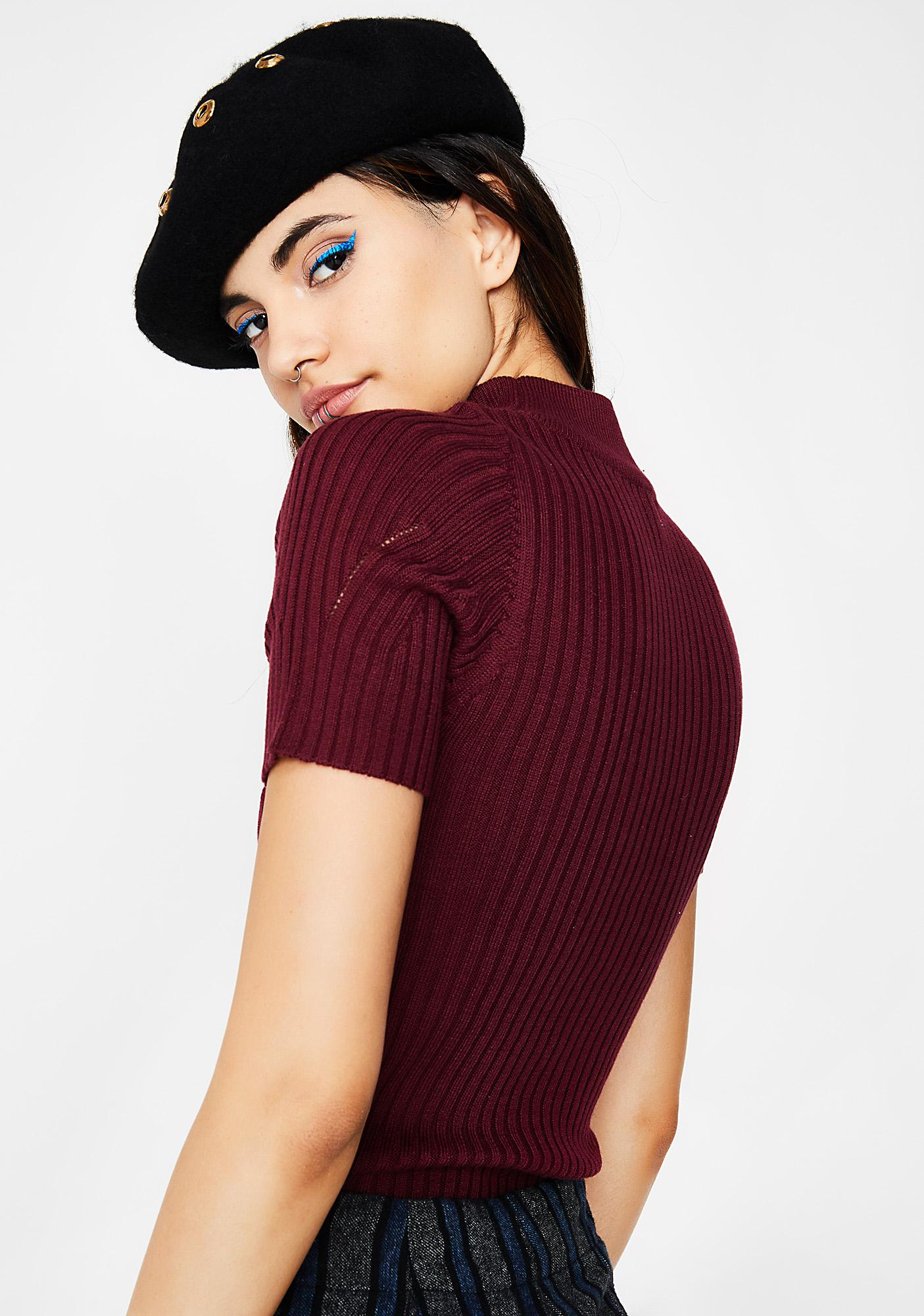 Me Time Ribbed Top